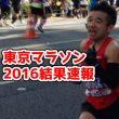 東京マラソン2016結果速報!芸能人の順位や大会豆知識などまとめ